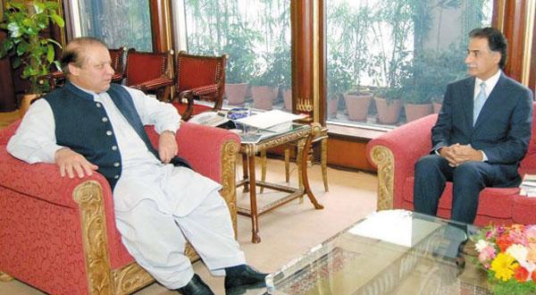 NA Speaker Ayaz Sadiq calls on PM Nawaz Sharif