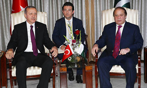 Pakistan, Turkey have vast opportunities to expand trade ties, says Prime Minister Nawaz Sharif