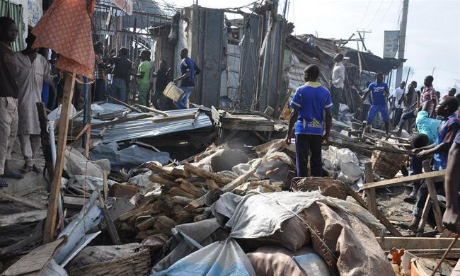 Blast kills around 50 in Nigeria's Borno state