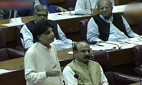 Altaf's policies have taken matter to extent that it will take time to compensate for loss: Ch Nisar