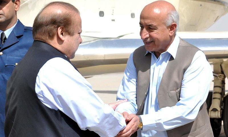 CM Balochistan Dr Abdul Malik meets Prime Minister Nawaz Sharif