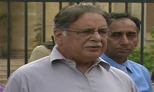 PTI's wickets are falling due to dictatorial attitude of Imran Khan: Pervaiz Rasheed