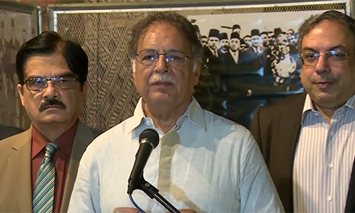 No compromise on Karachi operation, says Pervaiz Rashid