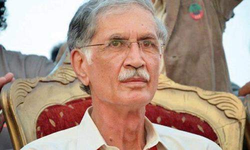 KP Chief Minister Pervaiz Khattak terms MQM resignations a drama