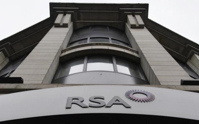 Analysts forecast 235 million pound first-half pretax profit for takeover target RSA