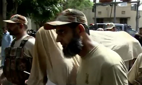 Seven MQM workers handed over to Rangers for 90 days, confess to killing 47 people