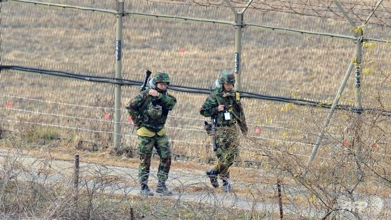 Blast in Korean DMZ wounds two South Korean soldiers: military