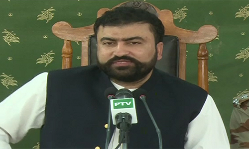 Abdus Sattar Bugti among four 'farari' commanders surrender in Quetta