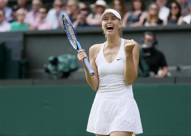 Sharapova is top female athlete earner 11th straight year