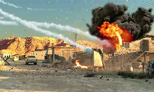 Two suicide bombers among 65 terrorists killed by security forces in North, South Waziristan