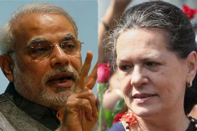 Sonia Gandhi attacks Modi over peace accord with militant separatists of India's northeast