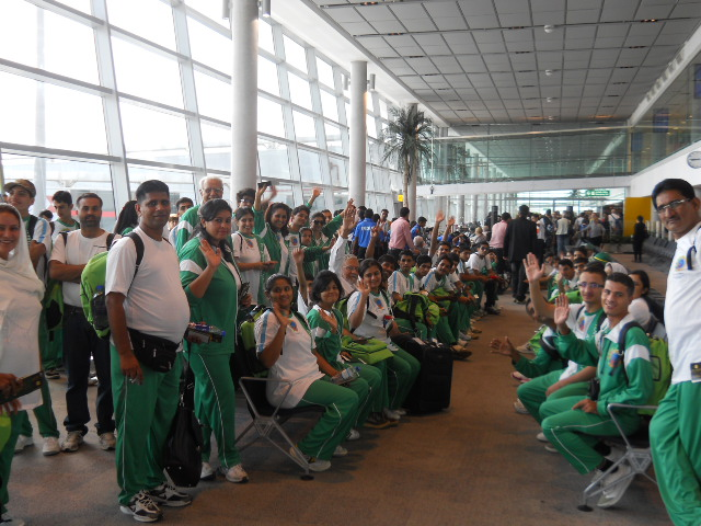 Special Olympics athletes squad arrive in Islamabad, Lahore and Karachi with 35 medals