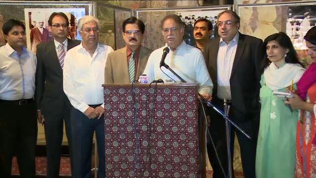 Karachi operation not against any political party, says Information minister Pervaiz Rashid