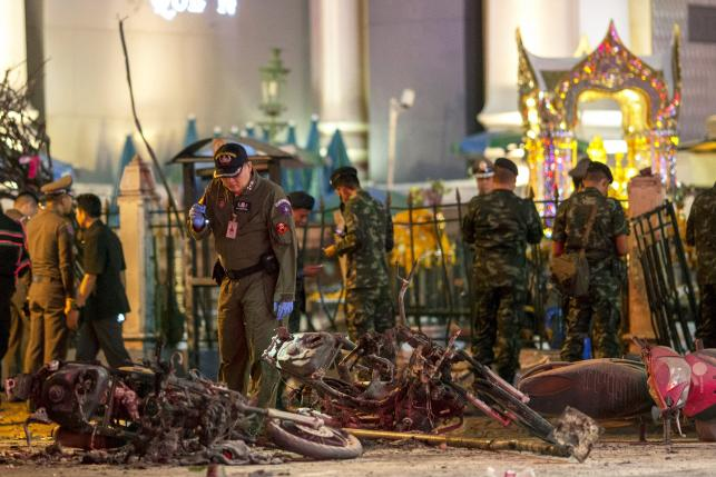 Thailand says can't rule out any group for Bangkok bomb, death toll at 22