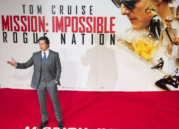 Box Office: Tom Cruise's 'Mission: Impossible – Rogue Nation' Dominates with $56 Million