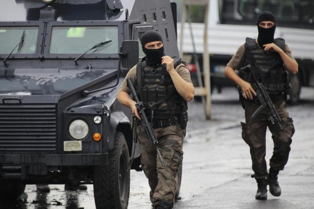 US consulate in Turkey targeted as wave of attacks kills nine
