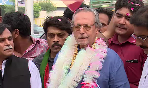PTI suspended leader Justice (retd) Wajihuddin launches movement for reform in party