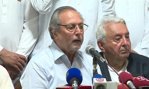 There is Qabza mafia, not dictatorship in PTI, says Justice (retd) Wajihuddin