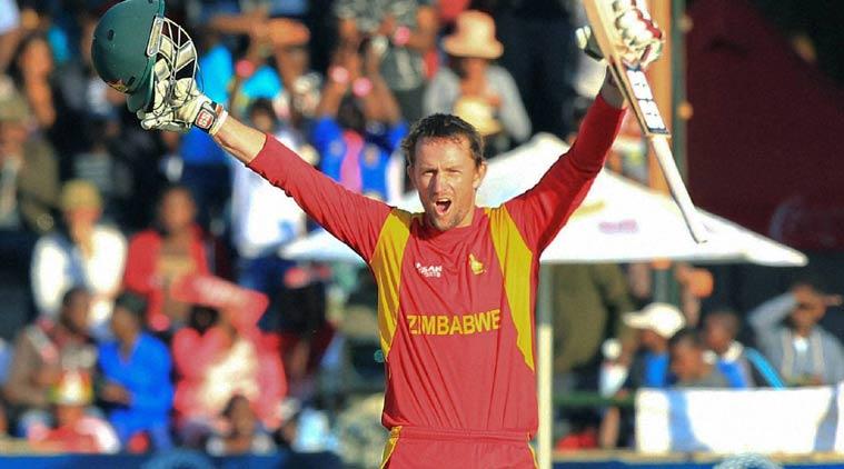 Ervine's maiden ton leads Zimbabwe to rare win