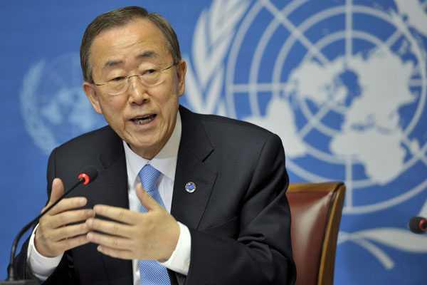 Ban Ki-moon wants India, Pak to exercise restraint along LoC