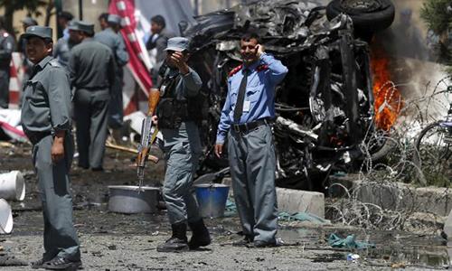 Kabul bomb targets foreign contractors, kills 12