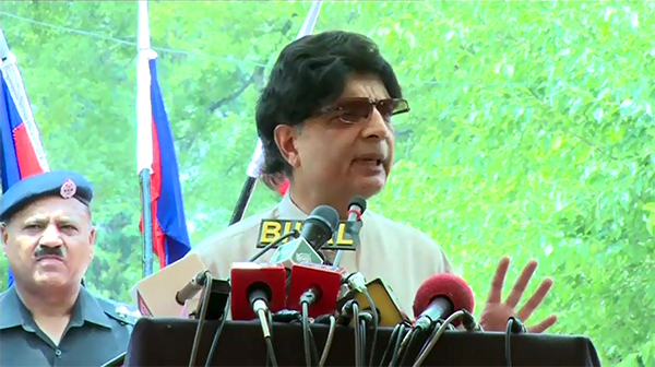 Interior Minister Chaudhry Nisar says MQM chief's lose talk worsening situation in Karachi
