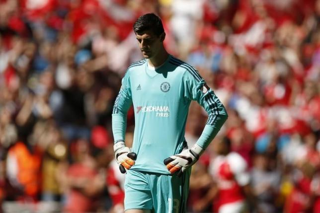 Courtois to miss Man City game after losing red card appeal