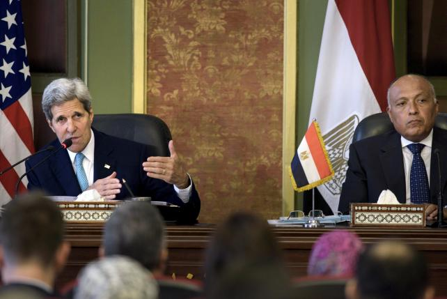 Kerry says United States, Egypt return to 'stronger base' in ties