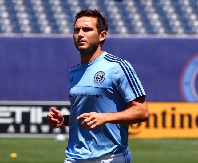 Lampard makes losing MLS debut for New York City FC