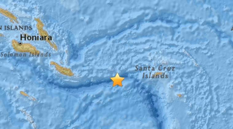 Earthquake magnitude 6.9 strikes off Solomon Islands