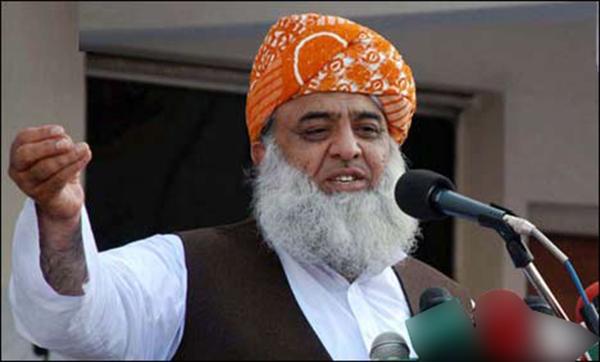 JUI-F chief Fazlur Rehman says Imran Khan criticising those trying to save him