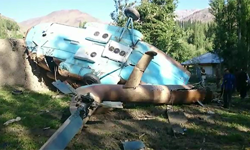 Helicopter tragedy: Pak Army completes rescue operation