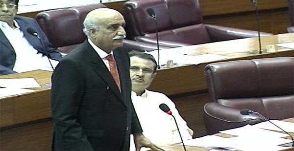 Khurshid Shah says PTI has no future programme for masses