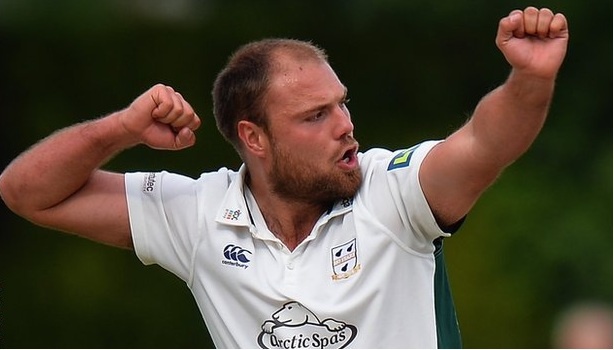 Leach takes hat-trick with first three balls of match