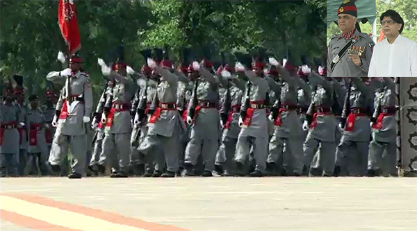 499 Rangers recruits pass out at impressive ceremony in Mandi Bahauddin