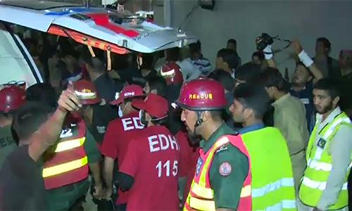 Four die as fire erupts at petrol pump in Rawalpindi