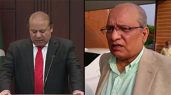 Controversial statement: PM meets Senator Mushahidullah, accepts his resignation