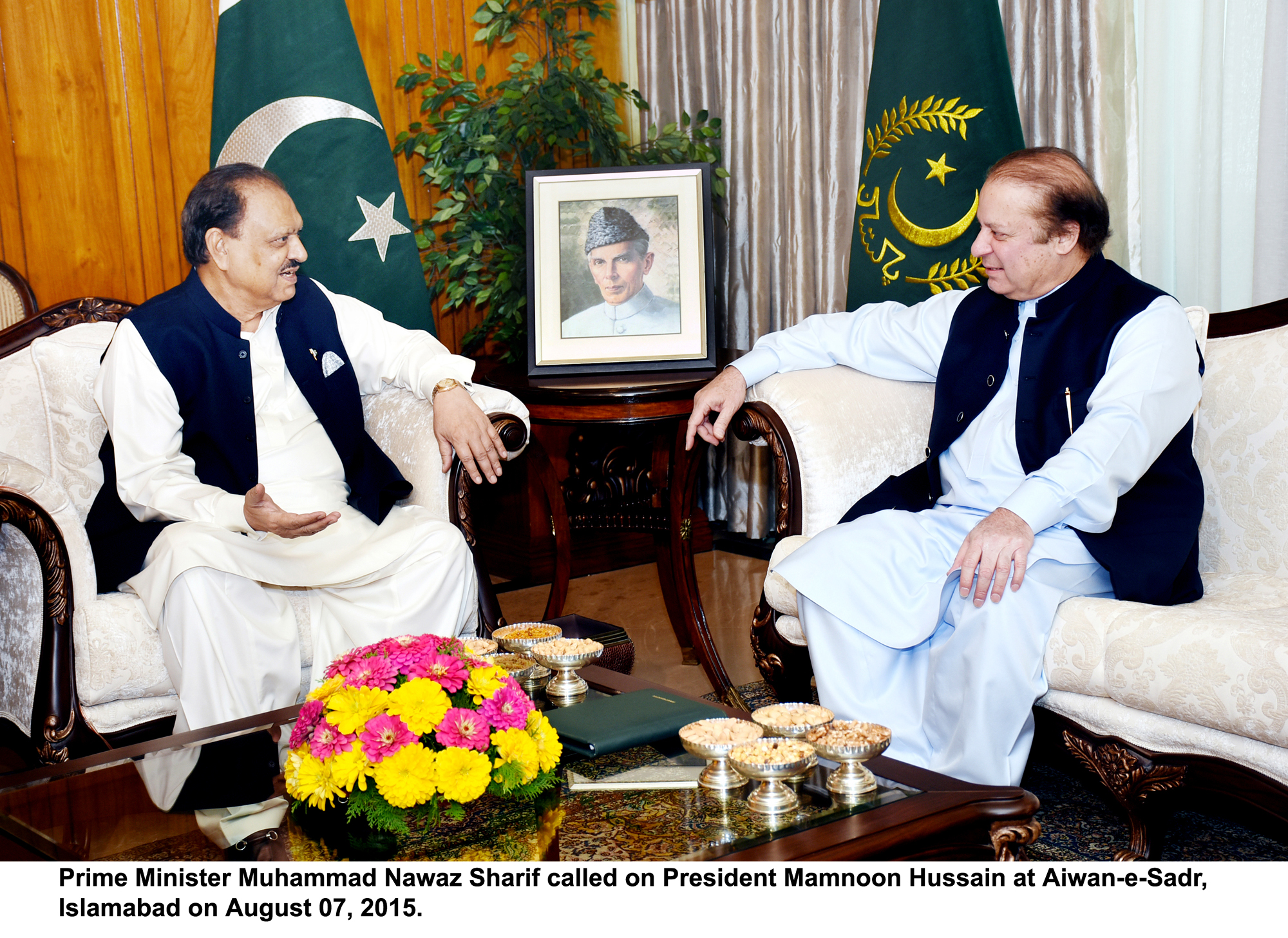 PM, President agree to continue operation against terrorists