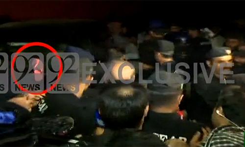Child abuse case: Shoe hurled at IGP Punjab Mushtaq Sukhera after press conference in Kasur