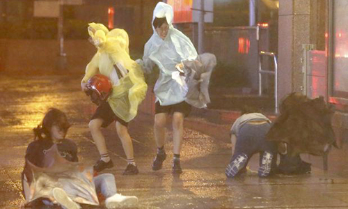 Powerful storm hits Taiwan, millions without power, six dead