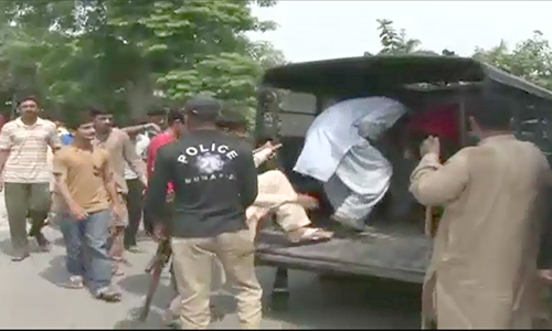 50 students arrested after clash between two organizations in Lahore