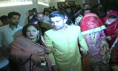 Aggressive batsman Ahmad Shahzad ties the knot in Lahore