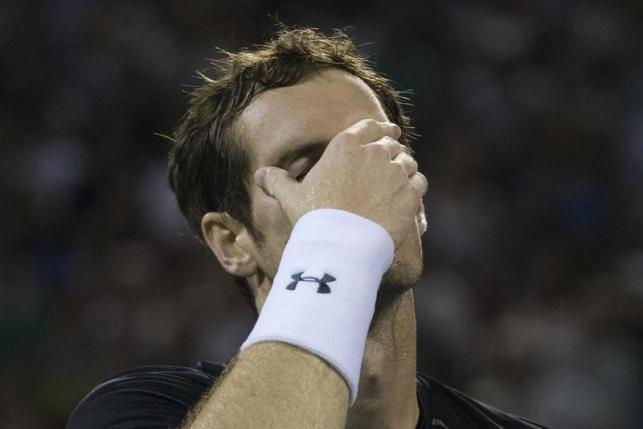 Anderson stuns Murray, Federer in quarters
