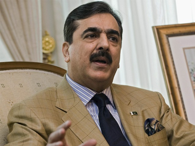 We will continue to support military operation, says Yousaf Raza Gillani