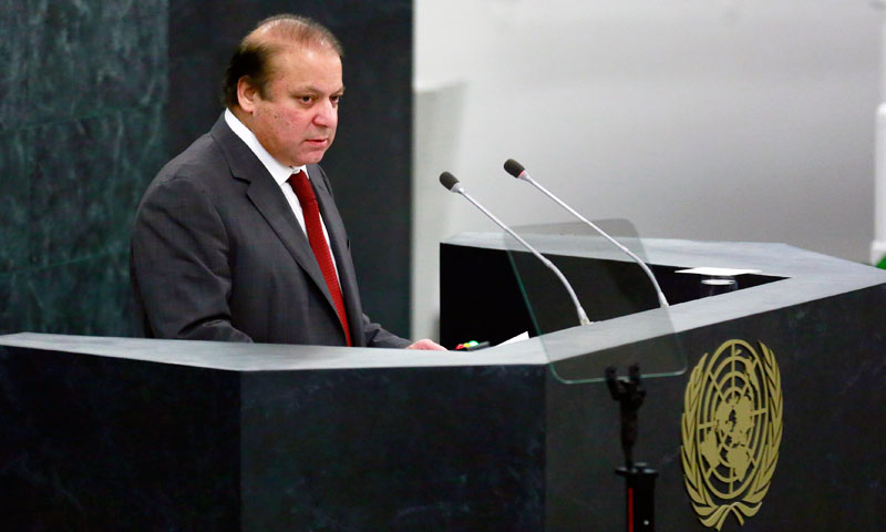 PM Nawaz Sharif to address 70th session of UNGA today