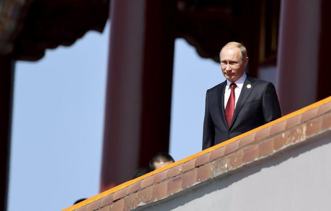 Russia's Putin calls for international coalition on extremism