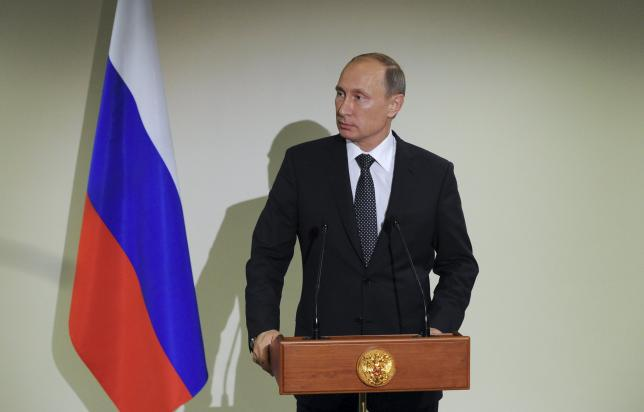 Russian parliament grants Putin right to use military force in Syria