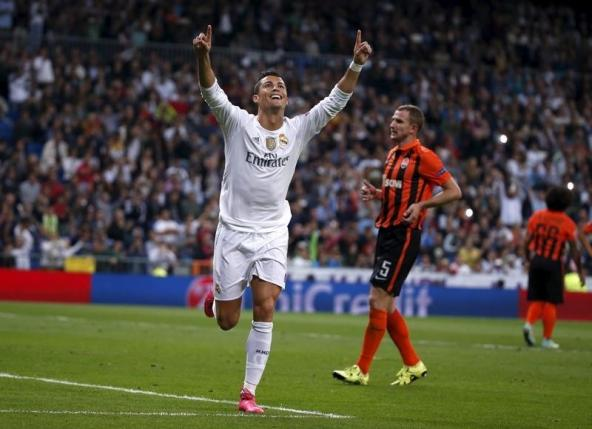 Raul's Real scoring record in Ronaldo's sights