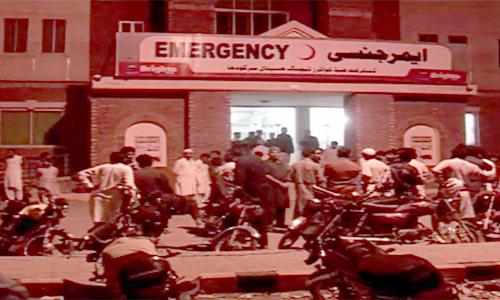 Three killed, four injured as motorcycle-rickshaw collides with dumper in Sargodha