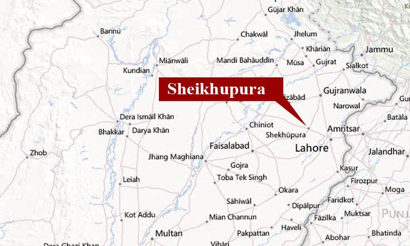 Eight Terrorists Killed In Sheikhupura Shootout News HD Plus - Pakpattan map